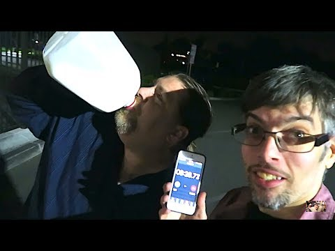 Milk And Brownies - Gallon Milk Challenge!!!