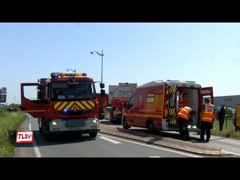 Sainte-Gemme-la-Plaine : un blessé héliporté après une collision