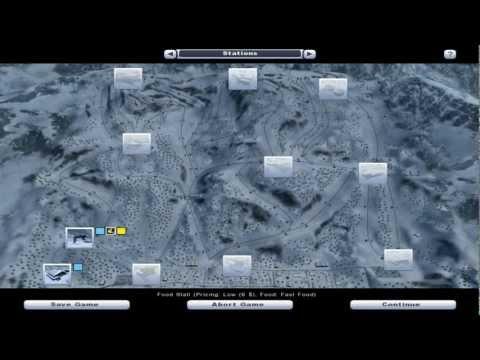 Let's Try Ski Region Simulator 2012 Part 1 Gameplay