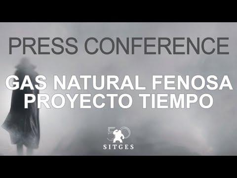 Sitges 2017: Press conference - Gas Natural Fenosa PROYECTO TIEMPO