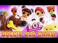 Doggie Doo Game Played by LOL Surprise Dolls Glitter Series to Win a New Smooshy Mushy Prize!