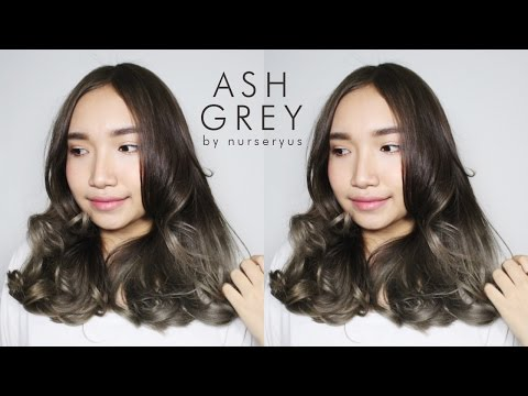 D.I.Y ash grey hair on a budget