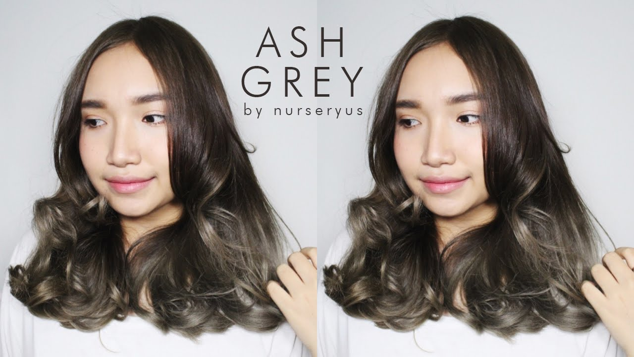 D I Y Ash Grey Hair On A Budget Youtube
