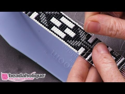 How to Repair a Dropped Bead in Loom Work