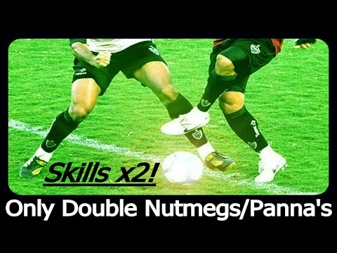 Double Nutmeg And Double Panna Skill Show Compilation!