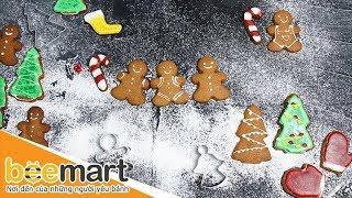 Cách làm bánh quy gừng giáng sinh - BEEMART