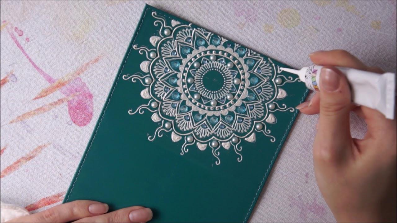Роспись конутром <b>обложки на паспорт</b> | Школа Мехенди Акрилом ...