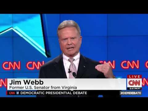 Jim Webb Lists Greatest Threats Facing Americans