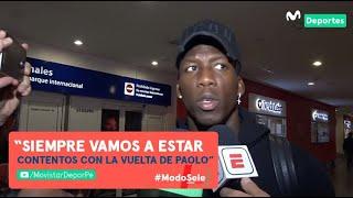 Luis Advíncula habló de la lesión de Yoshimar Yotún y la vuelta de Paolo Guerrero a la Selección