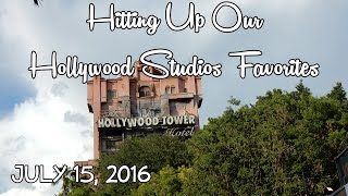 Hitting Up Our Hollywood Studios Favorites | July 15, 2016