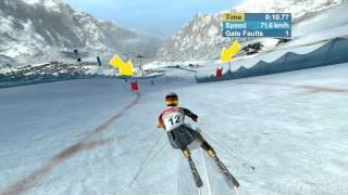 Torino 2006 Alpine Skiing PC Gameplay