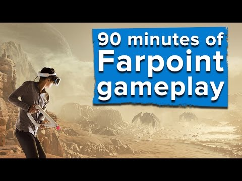 90 minutes of Farpoint PSVR gameplay - With Aim Controller