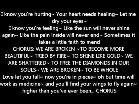 We Are Broken - Jeff and Sheri Easter WITH LYRICS