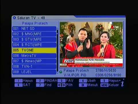 Cara Mencari Freq SCTV Mp2 & INDOSIAR Mp2 di Sat Palapa D