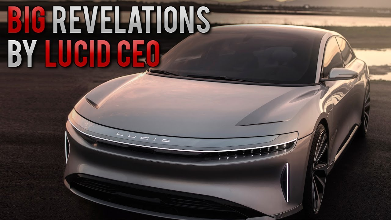 Former Tesla Engineer sheds Light on Lucid Air Technology