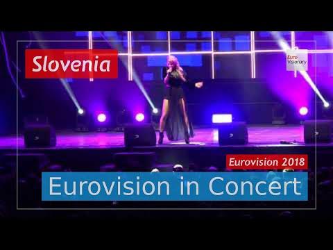 Slovenia Eurovision 2018 Live: Lea Sirk - Hvala, ne! - Eurovision in Concert