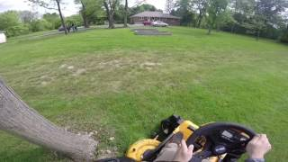 we take cub cadet s rzt s zero electric riding mower for a spin