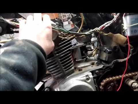 1973 Sl or Xl 125 Electrical Problem - YouTube Honda Xlr R Wiring Diagram on honda 450r wiring diagram, honda elite 80 wiring diagram, honda atv wiring diagram, honda 185s wiring diagram, honda c 200 wiring diagram,