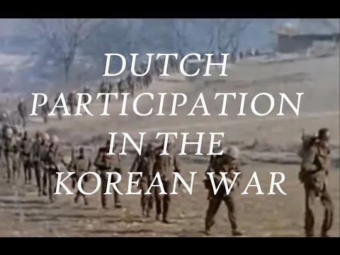 Dutch Participation in the Korean War 1950-1954