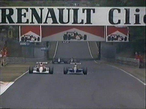 Mansell vs Senna - Monza 1991