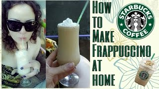 How To Make Frappuccino At Home Thumbnail