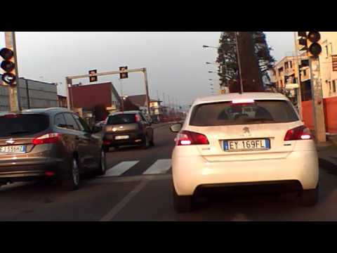 Driving in Vicenza   Italy