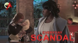Olivia Pope, The Baby Whisperer (Everyday Scandal Ep. 1 of 3)