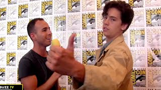 cole sprouse on jughead why riverdale made him want to start acting again at comic con 2016