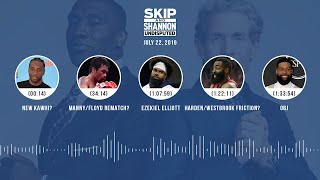 Download UNDISPUTED Audio Podcast (07.22.19) with Skip Bayless, Shannon Sharpe & Jenny Taft | UNDISPUTED Mp3 and Videos
