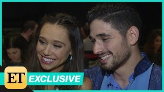 'DWTS': Alexis Ren and Alan Bersten Address Romance Rumors! (Exclusive)