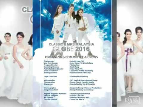 CLASSIC & MRS MALAYSIA GLOBE 2016