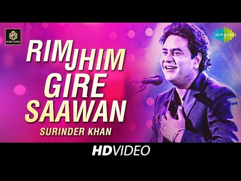 Rim Jhim Gire Sawan  | Surinder Khan | Cover Version | Old Is Gold | HD Video