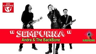 Andra and The Back Bone - Sempurna (Video Karaoke) No Vocal