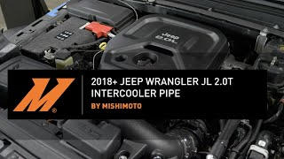 homepage tile video photo for 2018+ Jeep Wrangler JL 2.0L Performance Intercooler Pipe Installation Guide by Mishimoto