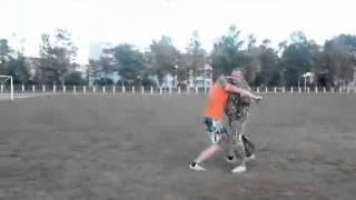 рукопашный бой с ножом видео