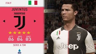 JUVENTUS IN FIFA 20 CAREER MODE