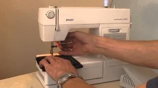 видео Швейные машинки Pfaff