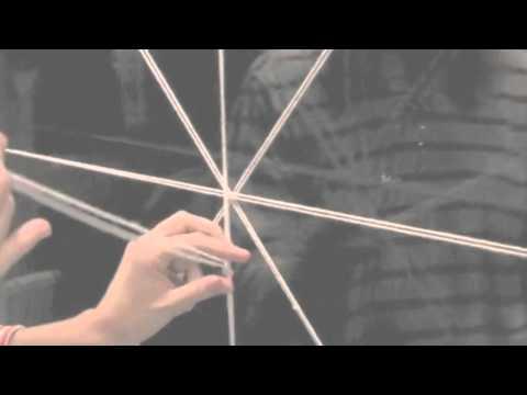 Как сделать паутину из ниток своими руками на хэллоуин