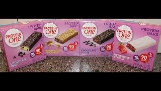 Protein One by Fiber One: Chocolate Chip, PB Chocolate, Chocolate Fudge, Strawberries & Cream