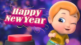 Happy New Year Funny animated Cartoon New Year Funny Cartoon For Kids