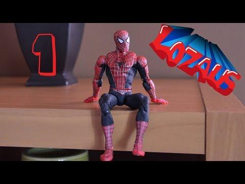 Человек паук мультфильм игрушки