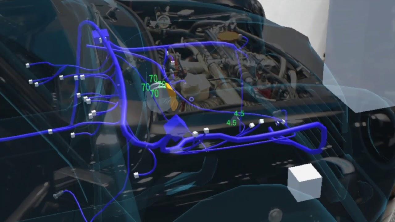 HoloGARAGE:Microsoft Hololens Vehicle Maintenance AR Applications Demo at  Automotive World 2018