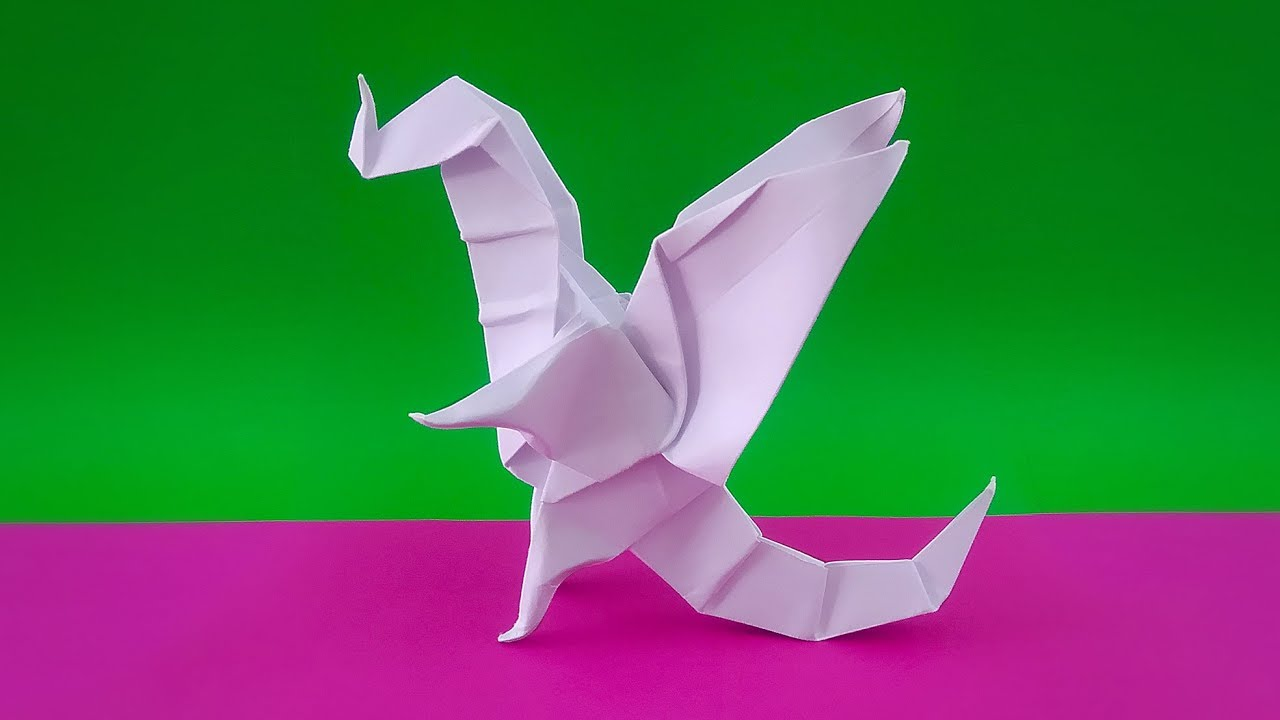 Origami Fairy Dragon