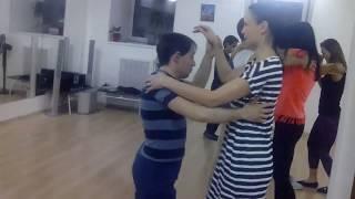 Сальса в Школе танцев Чино   Урок для начинающих