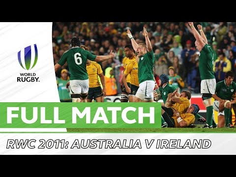 Australia V Ireland | Rugby World Cup 2011 Pool Stage | Full Match