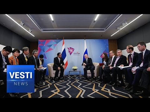 Putin at Singapore Summit VERY Optimistic About Growing Russian Involvement in SE Asia!