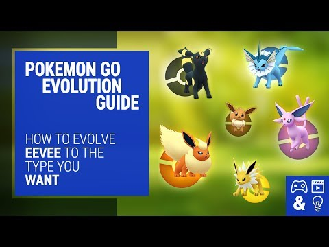 Pokemon Go Eevee Evolutions How-To Guide