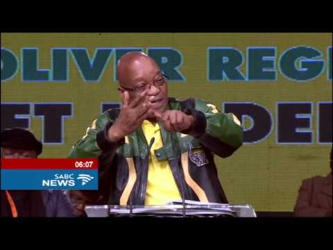 Zuma endorses call for loser in presidency race to be elected deputy