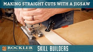 How to Make Straight Rip Cuts with Your Jigsaw