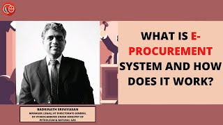 What is e-procurement system and how does it work?